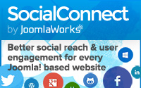 SocialConnect - Better social reach & user engagement for any Joomla website